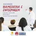 Biomedicina e Enfermagem discutem segurança do paciente em aula magna