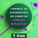 Conheça os diferenciais do curso de Ciências Biológicas