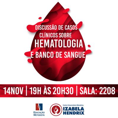 Curso de Biomedicina promove discussão sobre hematologia e banco de sangue