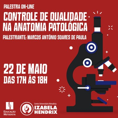 "Curso de Biomedicina promove palestra sobre ""Controle da qualidade na anatomia patológica"""