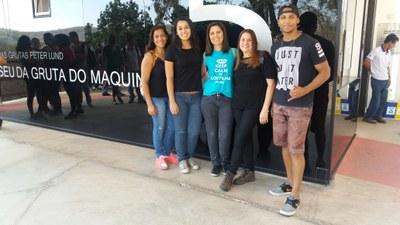 Curso de Engenharia Ambiental e Sanitária promove visita técnica à Gruta do Maquiné