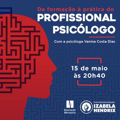 Curso de Psicologia promove palestra on-line