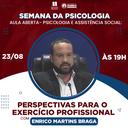 Curso de Psicologia promove semana de eventos em comemoração ao Dia do Psicólogo