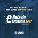 Cursos do Izabela Hendrix ganham destaque no Guia do Estudante