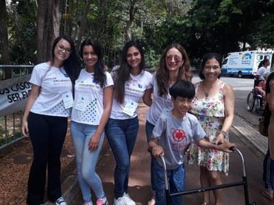 Cursos do Izabela participam de ação no Dia Mundial do AVC