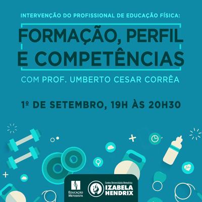 Educação Física promove palestra sobre formação, perfil e competências do profissional de Educação Física