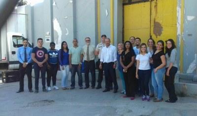 Estudantes de Direito fazem visita técnica à penitenciária José Maria Alkimin