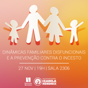 Curso de Pedagogia discute abuso infantil em palestra