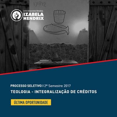 Izabela Hendrix abre inscrições do processo seletivo para Integralização de Créditos em Teologia