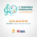 Izabela Hendrix promove 1ª Edição dos Seminários Internacionais - Curso de Música