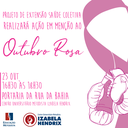 Izabela Hendrix promove ação do Outubro Rosa