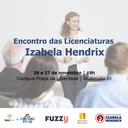Izabela Hendrix promove encontro dos cursos de licenciatura