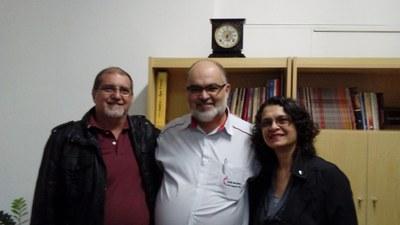Izabela Hendrix recebe o Bispo Roberto Alves de Souza