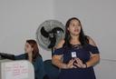 Izabela Hendrix sedia o 1º Meetup da R-Ladies BH