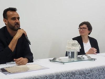 Izabela realiza palestra sobre Métodos Alternativos de Financiamento com presença internacional