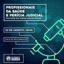 """Izabela recebe advogada para aula magna sobre """"Profissionais da Saúde e Perícia Judicial"""""""