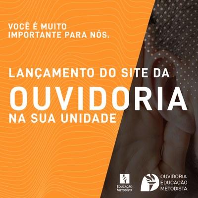 Lançamento: site oficial da Ouvidoria