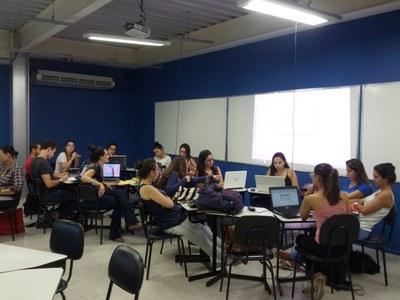 Sala de Metodologias Ativas amplia potenciais de grupo de estudos em Geoprocessamento