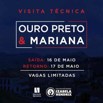 NPJURIH promove visita técnica a Ouro Preto e Mariana