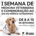 Participe da 1ª Semana de Medicina Veterinária