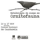 ProDIC organiza Metodologia de campo em Ornitofauna