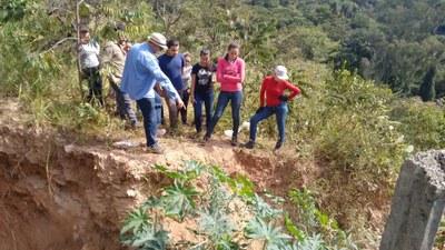 Projeto de extensão promove recuperação de voçoroca e leva melhorias à região da Unidade Fazendinha