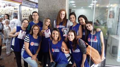 Projeto Educação em Saúde realiza ação para lembrar Outubro Rosa