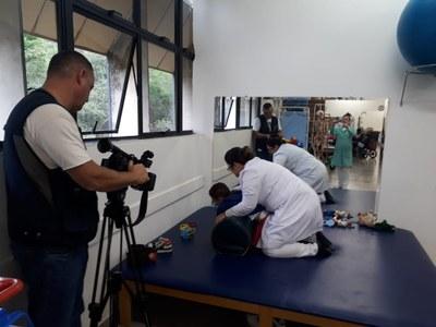 Trabalho das Clínicas Integradas de Saúde do Izabela Hendrix é exibido em série da Globo Minas