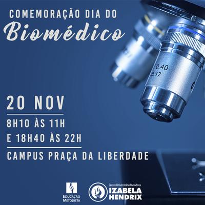 Universidade comemora o Dia do Biomédico