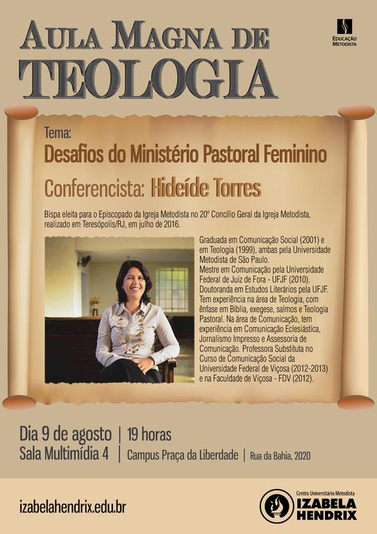 Aula Magna de Teologia - 2016-2
